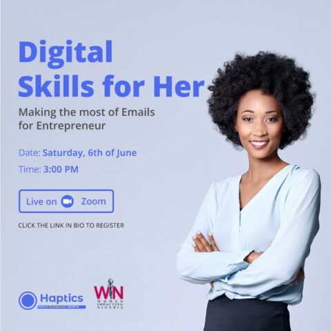 DIGITAL SKILLS FOR HER WITH HAPTICS